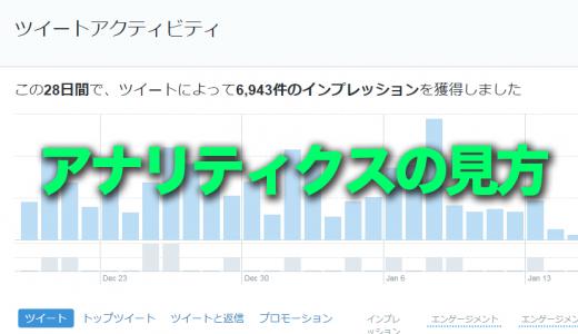 Twitterアクセス解析でわかるインプレッション数の増え方